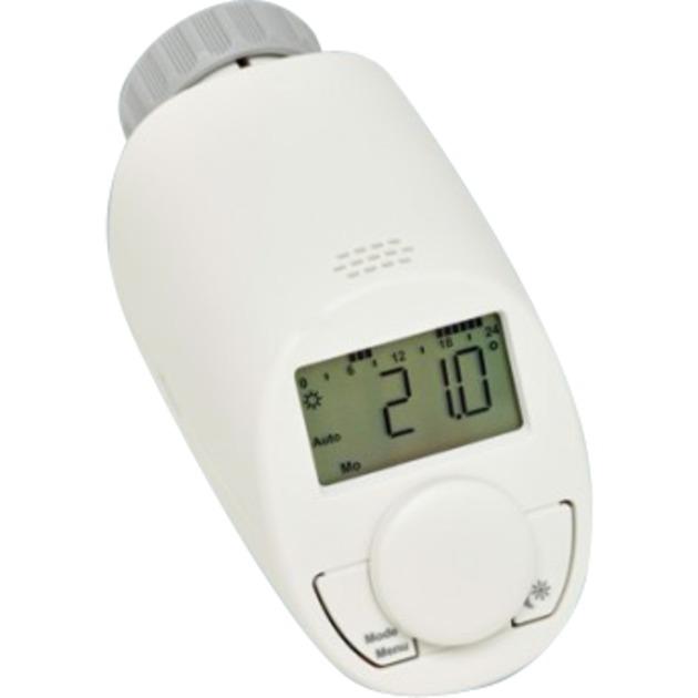 CC-RT-N-EQ Gris, Color blanco termoestato, Termostato de la calefacción