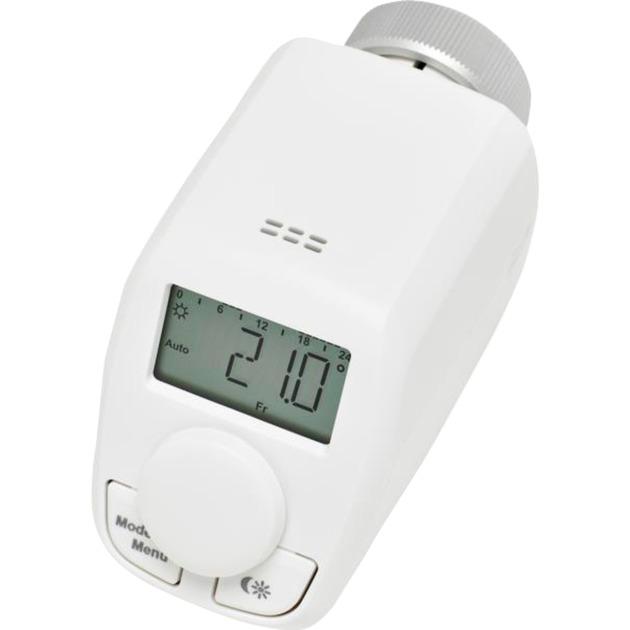 CC-RT-P Blanco termoestato, Termostato de la calefacción