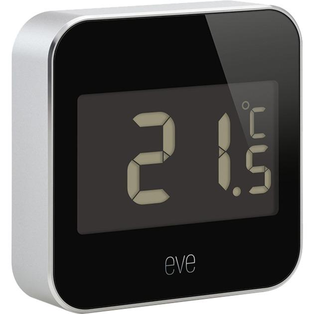 Eve Degree Interior / exterior Temperature & humidity sensor Independiente Inalámbrico, Estación meteorológica