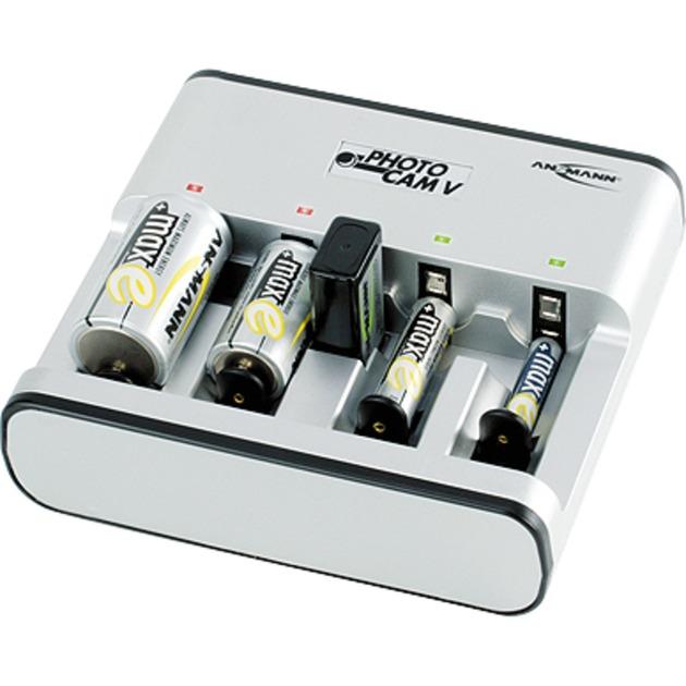 5207473 Cargador de baterías para interior Blanco cargador de batería
