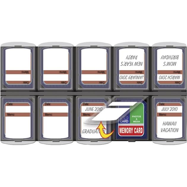 160 funda para tarjeta de memoria Negro, Almacenamiento