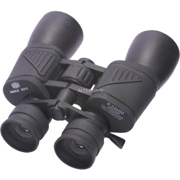 Bilogon ZOOM binocular Porro Negro, Prismáticos