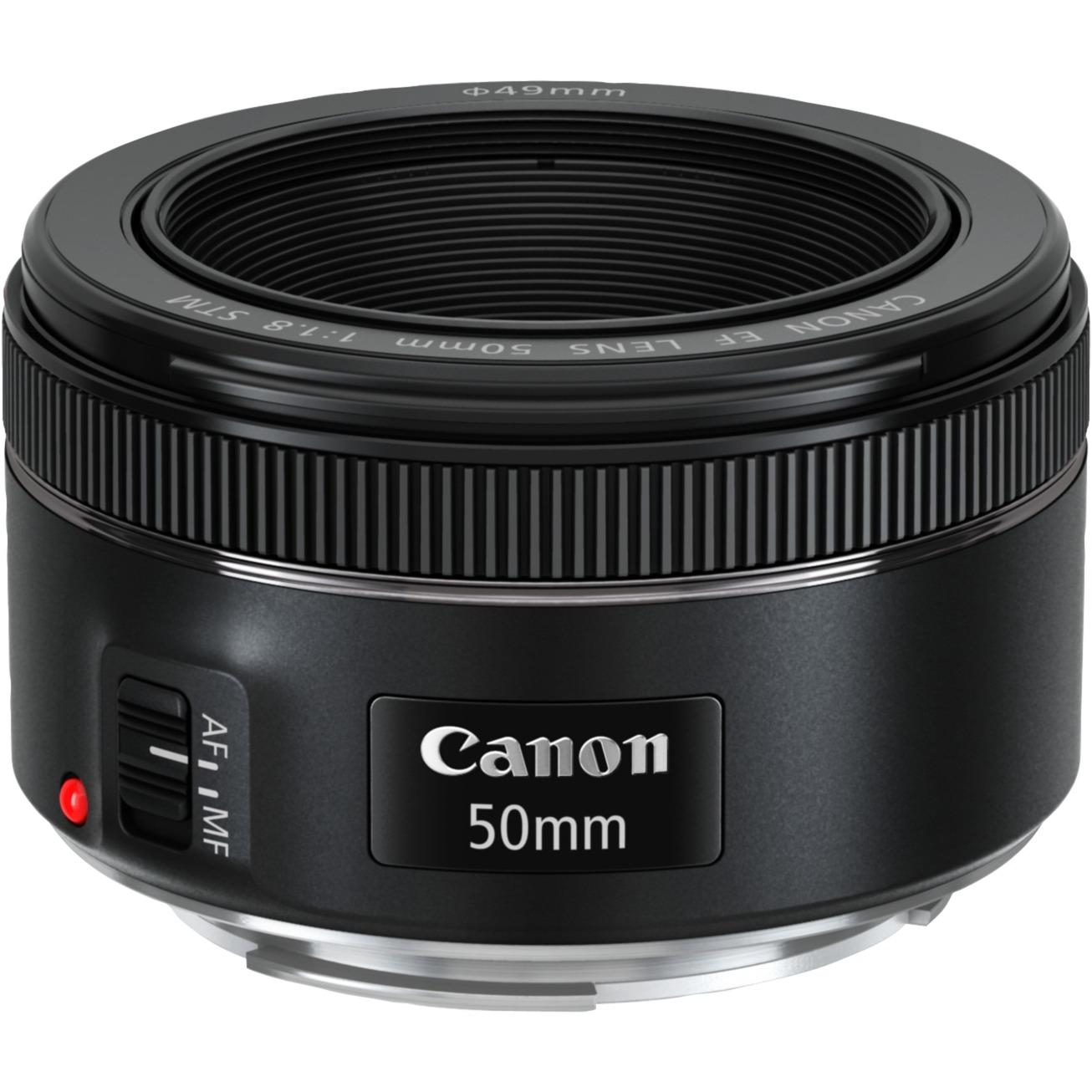 EF 50mm f/1,8 STM, Objetivos