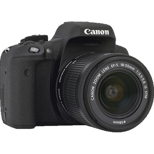 EOS 750D + EF-S 18-135mm Juego de cámara SLR 24,2 MP CMOS 6000 x 4000 Pixeles Negro, Cámara digital