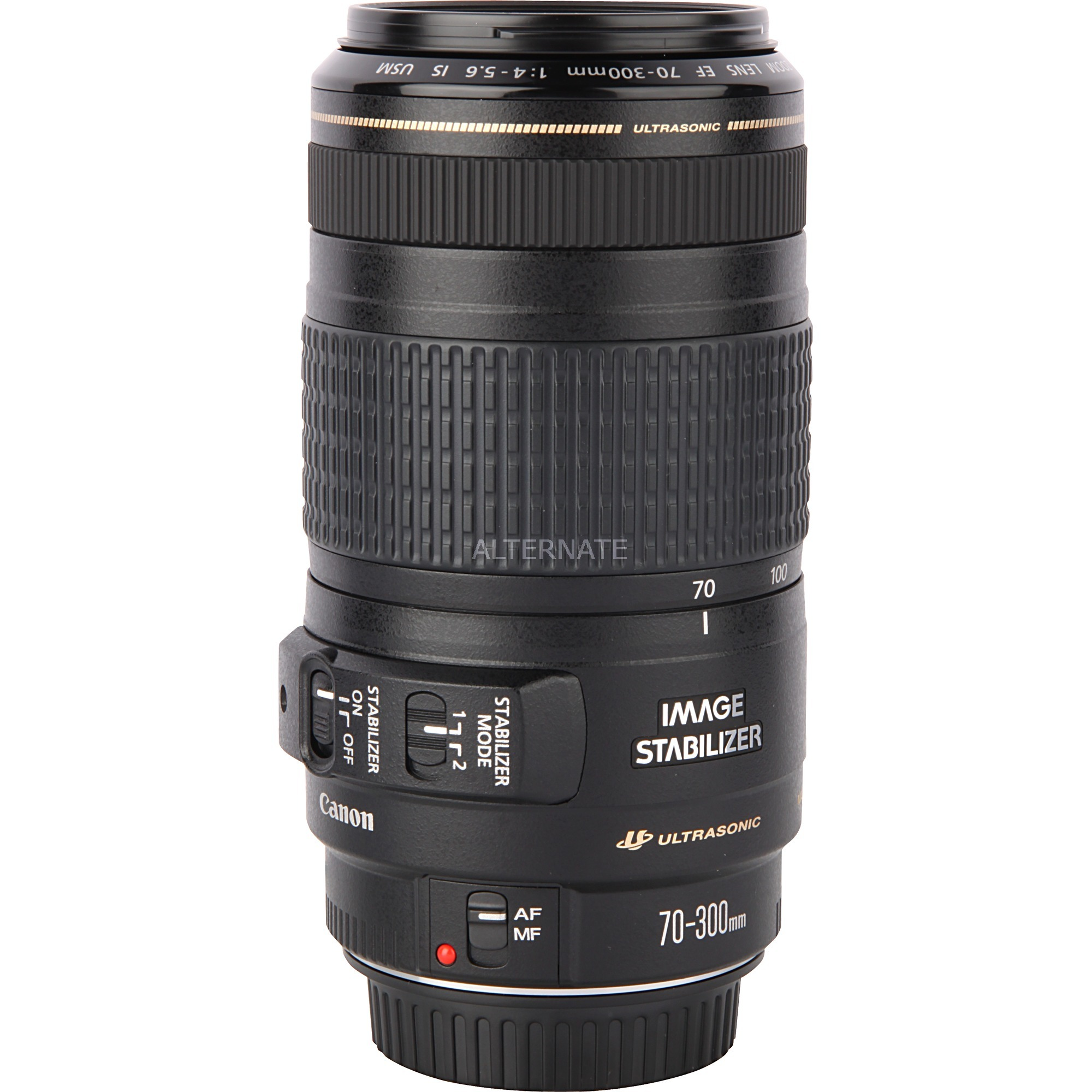 Objetivo EF 70-300mm 1:4.0-5.6 IS USM, Objetivos