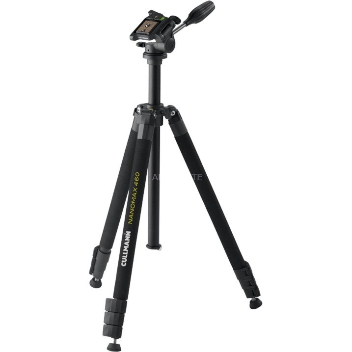 Nanomax 460 RW20 Digitales / cámaras de película Negro tripode, Trípodes y accesorios de trípode