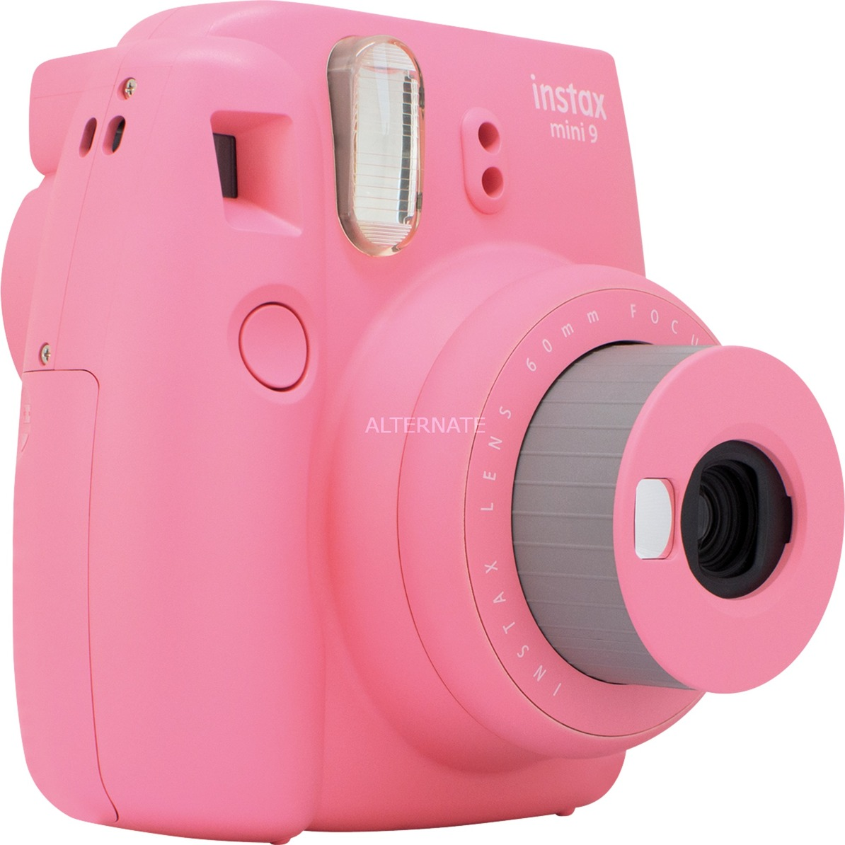 Instax Mini 9 62 x 46 mm Rosa, Cámara instantánea