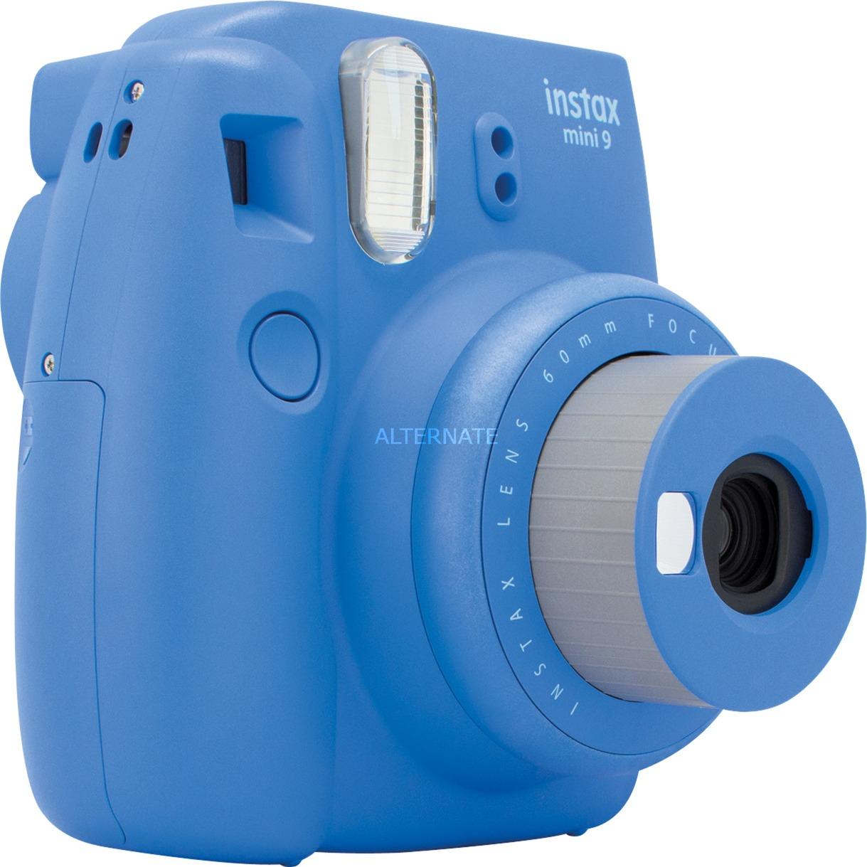 Instax Mini 9 cámara instantánea impresión 62 x 46 mm Azul