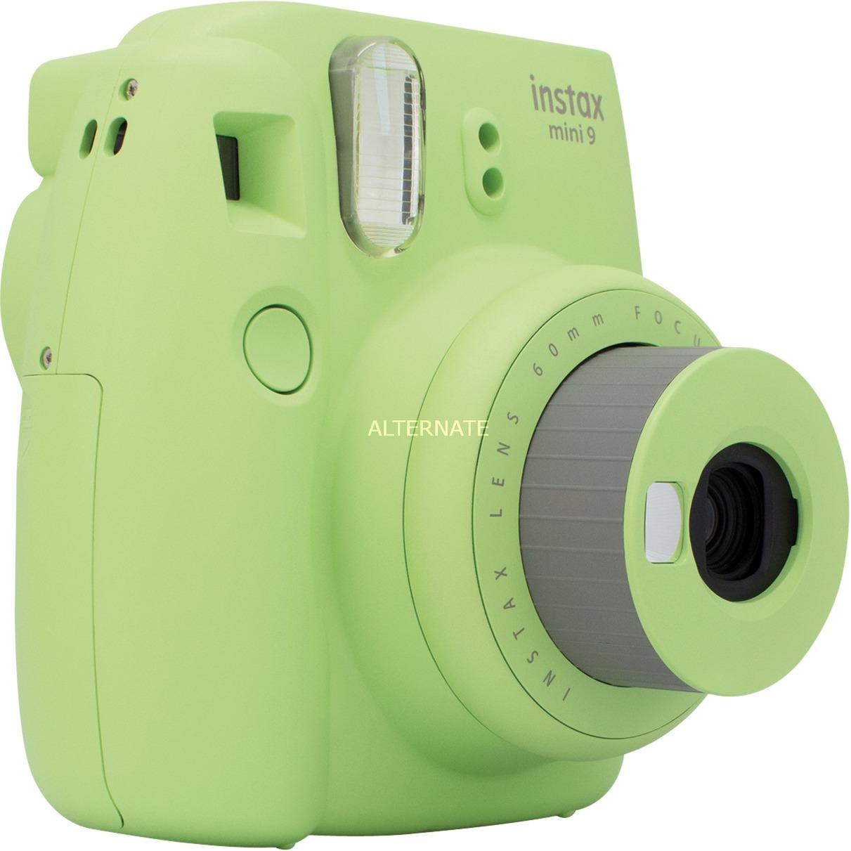 Instax Mini 9 cámara instantánea impresión 62 x 46 mm Verde, Cal