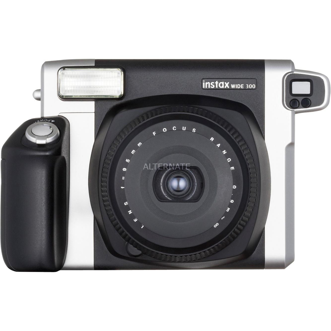 Instax Wide 300 cámara instantánea impresión 62 x 99 mm Negro, Plata