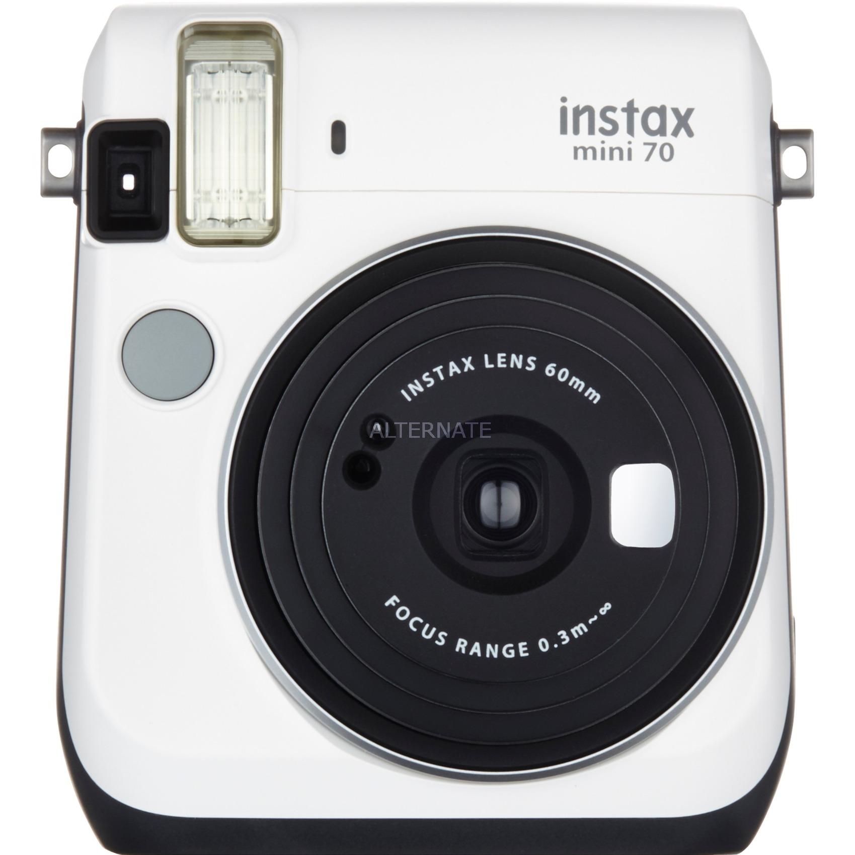 Instax mini 70 62 x 46mm Blanco cámara instantánea impresión