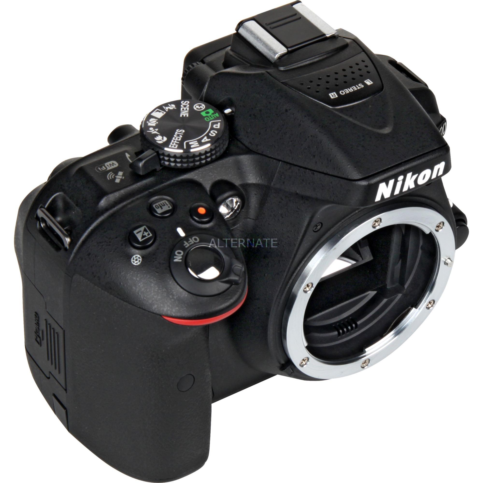 D5300 Cuerpo de la cámara SLR 24.2MP CMOS 6000 x 4000Pixeles Negro, Cámara digital