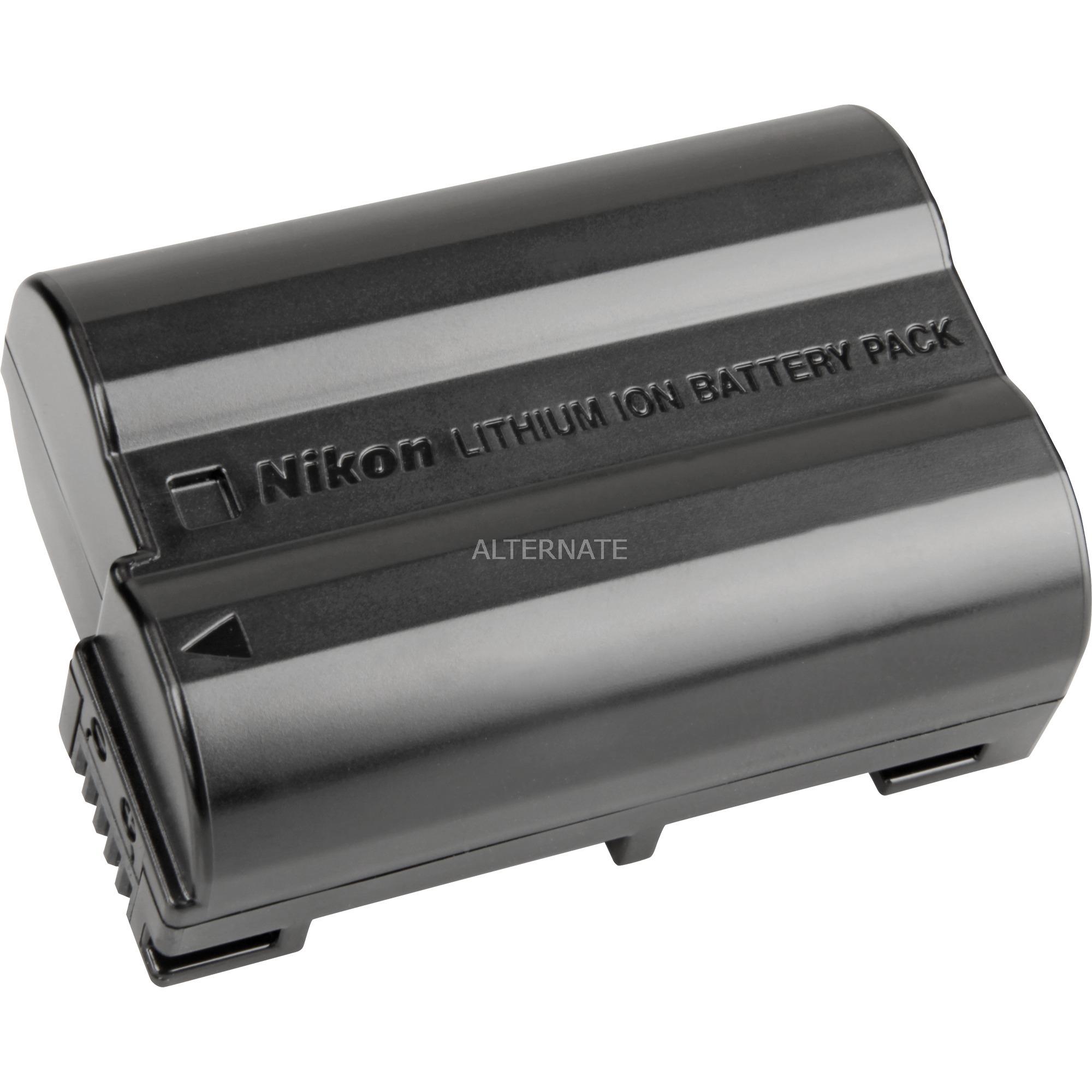Rechargeable Li-ion battery EN-EL15 Ión de litio 1900mAh 7V batería recargable, Batería para cámara