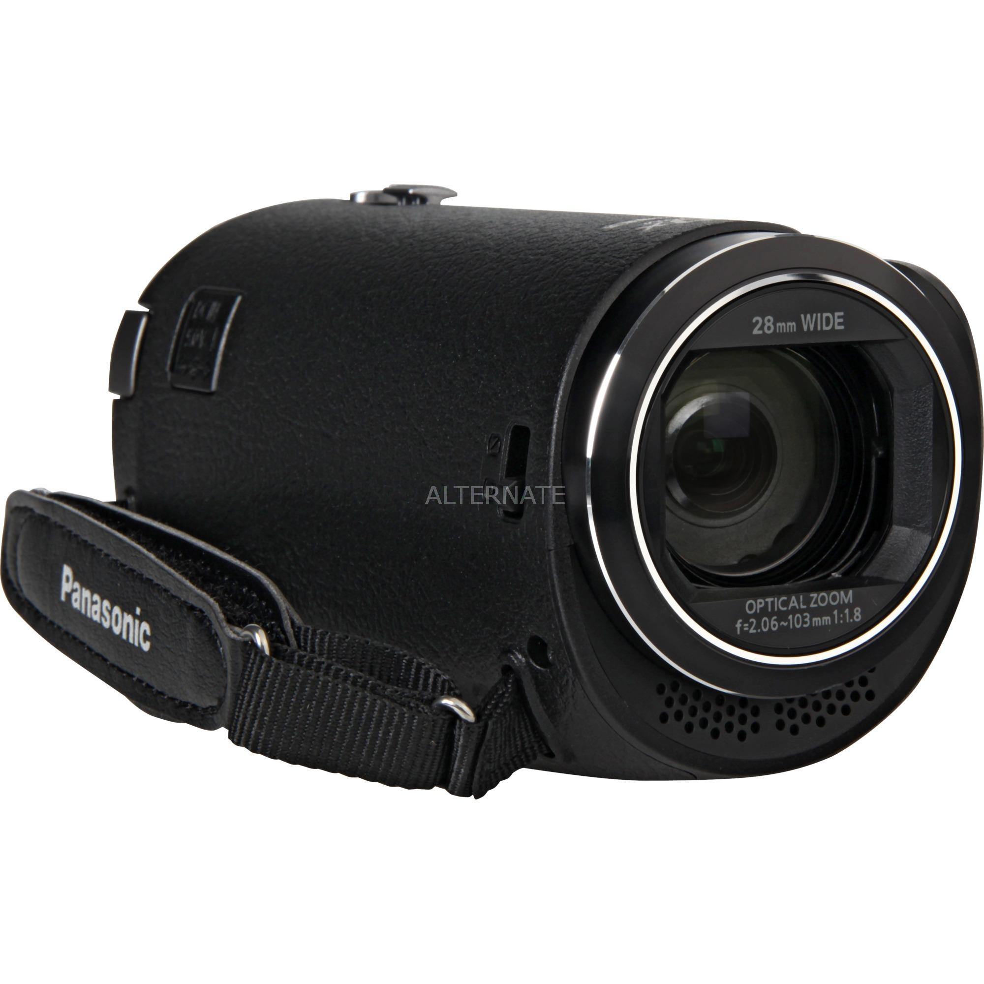 HC-V380EG-K soporte de videocámara 2,51 MP MOS BSI Videocámara manual Negro Full HD, Cámara de vídeo