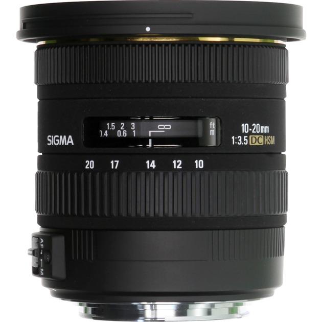 10-20mm f/3.5 EX DC HSM NIKON SLR Objetivo ancho, Objetivos