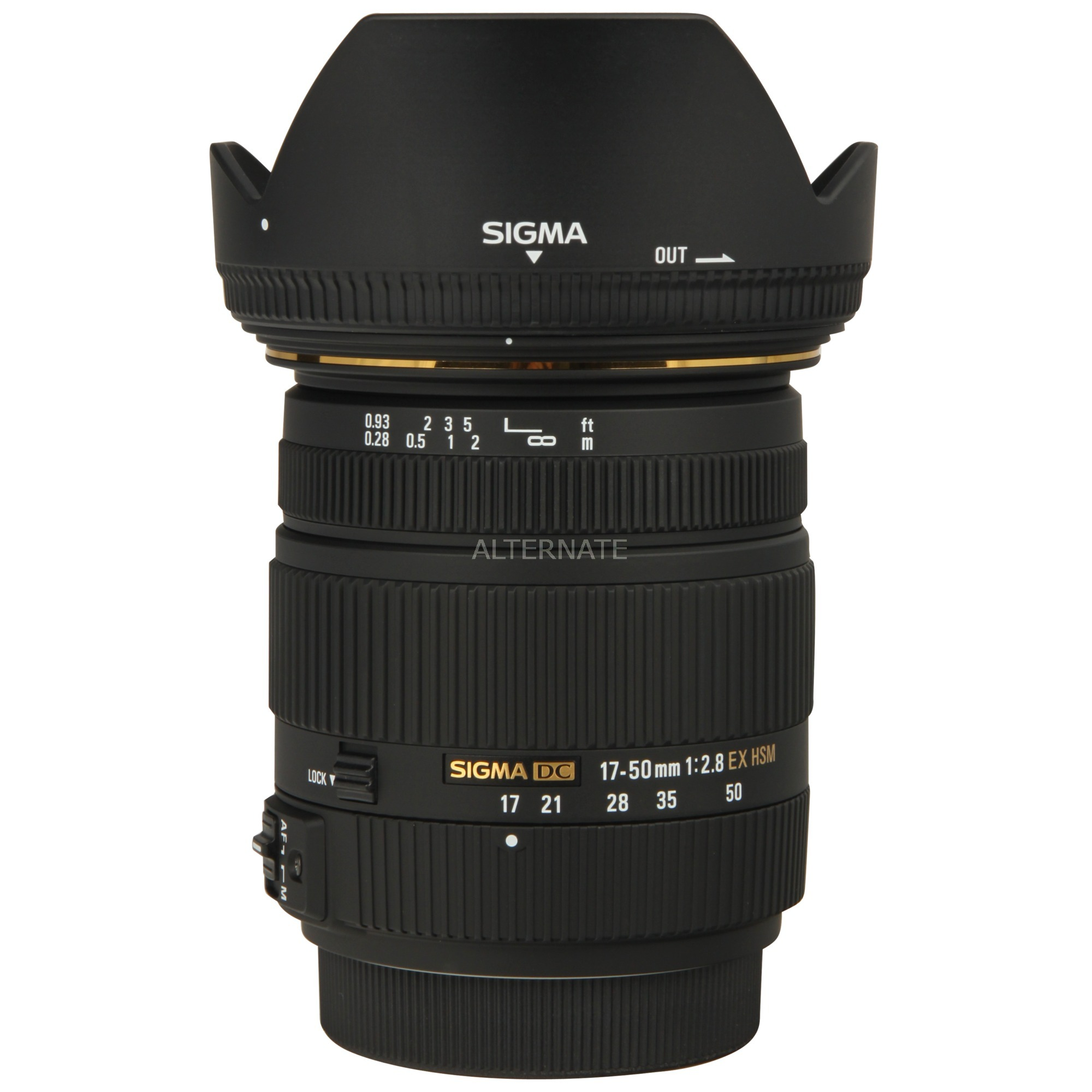 17-50mm F2.8 EX DC OS HSM Negro, Objetivos