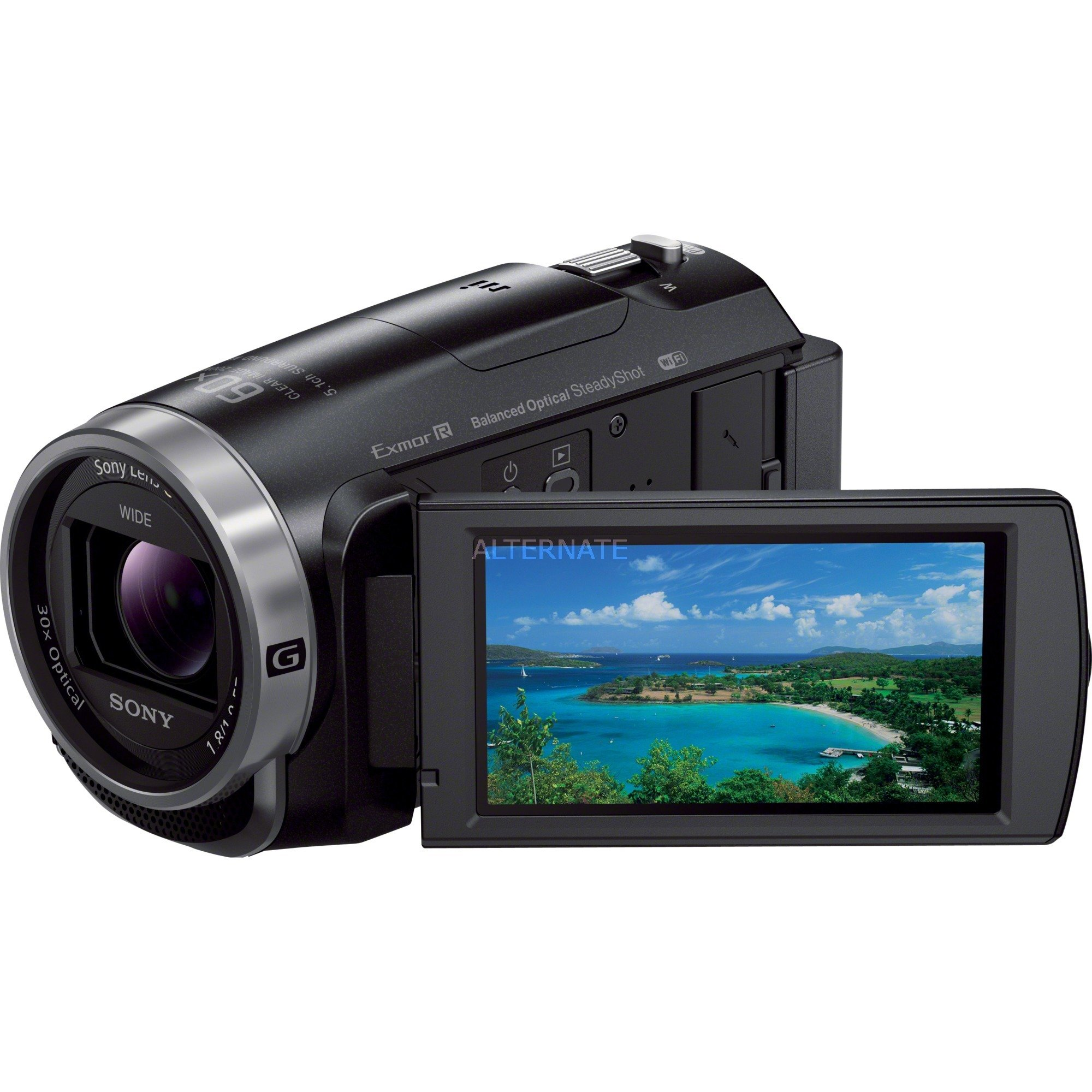 HDR-CX625B Videocámara manual 2.29MP CMOS Full HD Negro, Cámara de vídeo