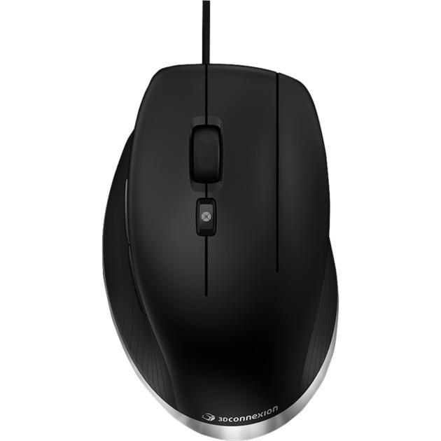 Cadmouse ratón USB Laser 8200 DPI mano derecha Negro