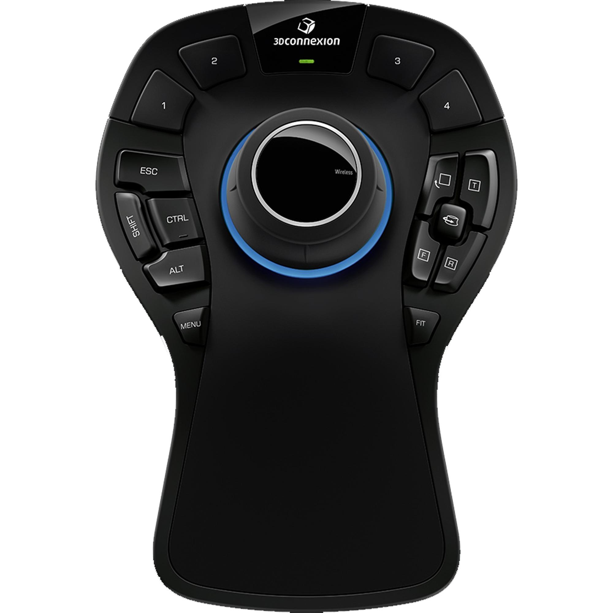 SpaceMouse Pro 6DoF Negro ratón