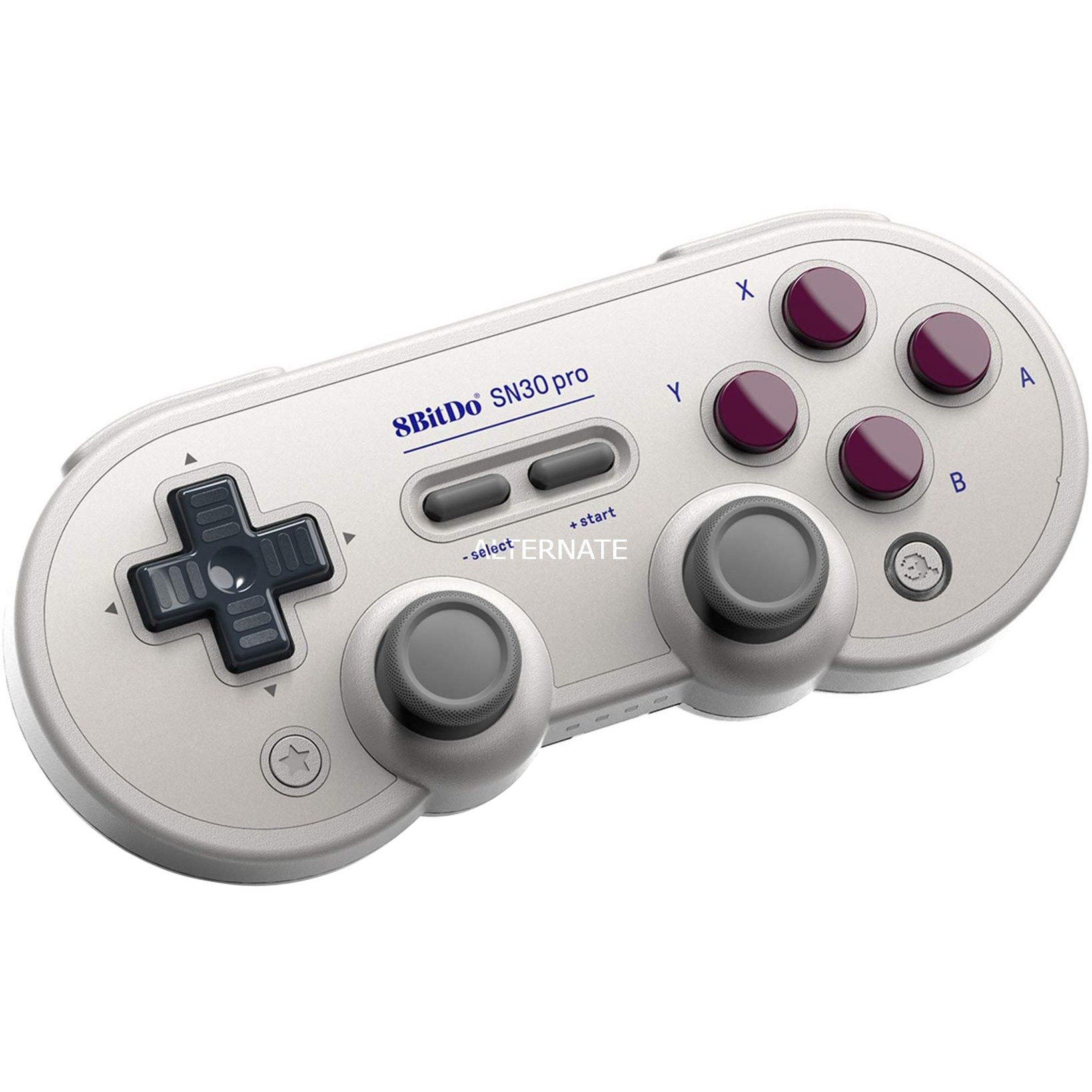 SN30 Pro G Classic Gamepad Android,Nintendo Switch,PC Analógico/Digital Bluetooth/USB Gris