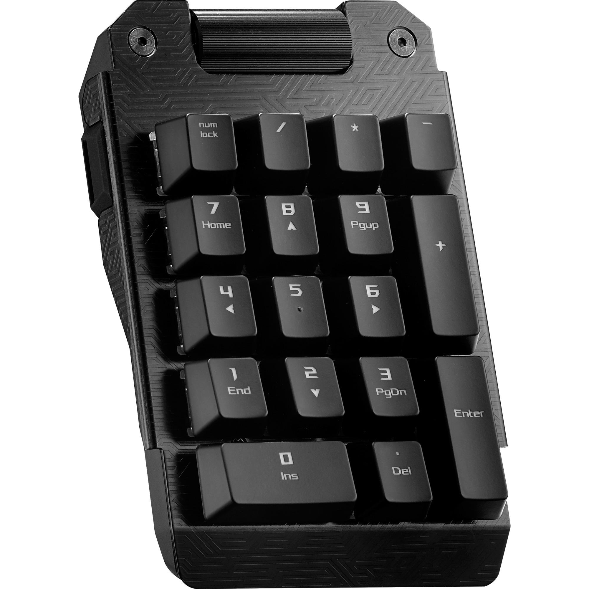 ROG Claymore Bond teclado numérico USB Universal Negro