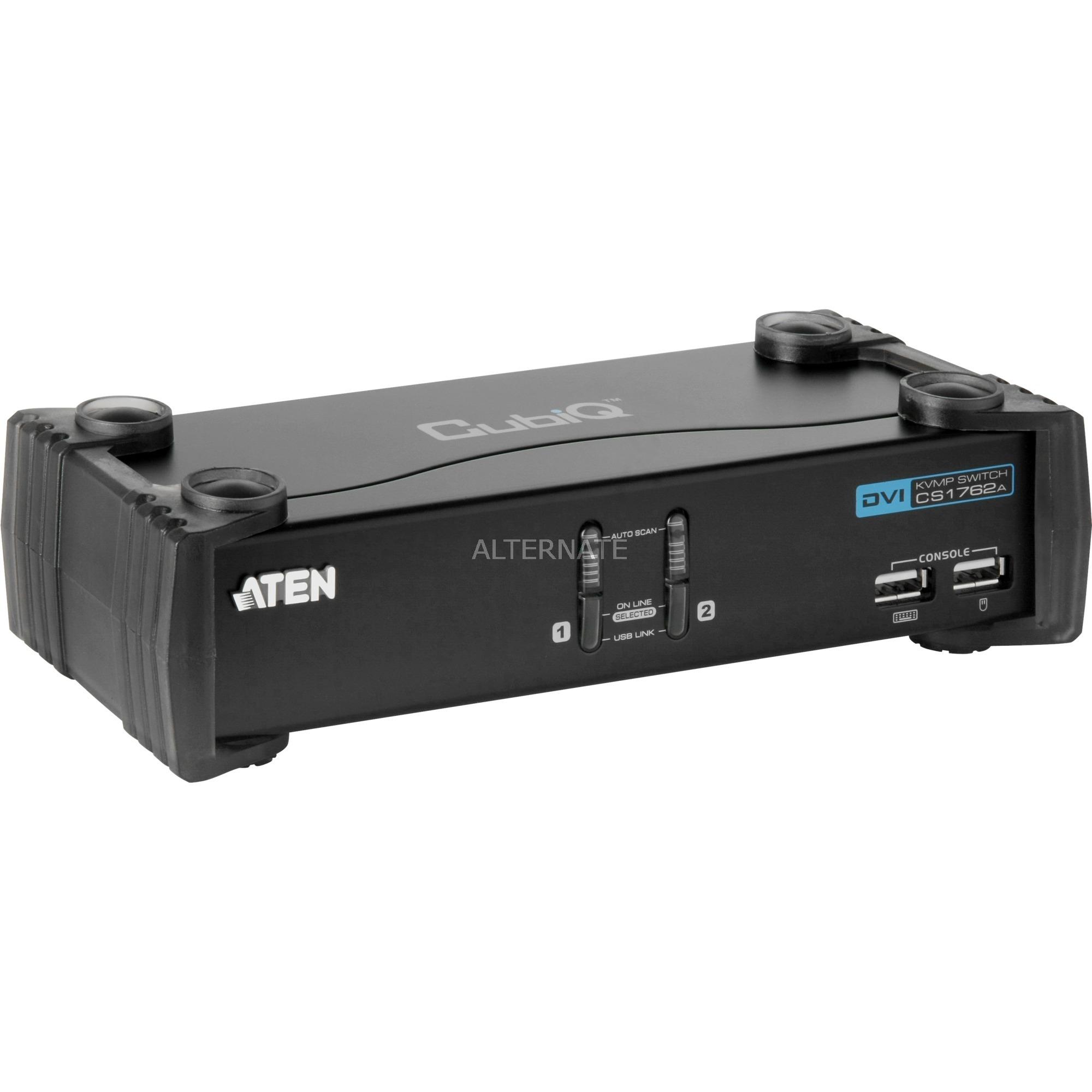 CS1762A Negro interruptor KVM, Switch KVM