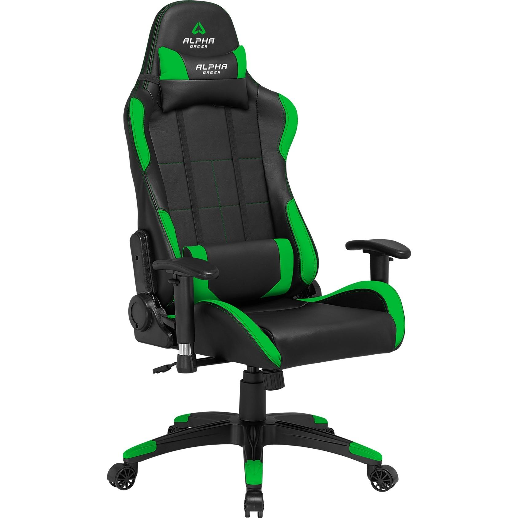 Vega Asiento acolchado Respaldo acolchado silla de oficina y de ordenador, Asientos de juego