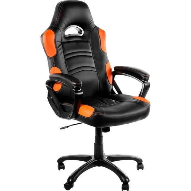 Enzo Orange silla de oficina y de ordenador, Asientos de juego