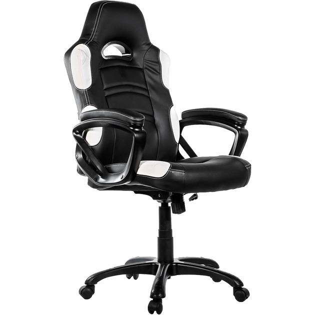 Enzo White silla de oficina y de ordenador, Asientos de juego