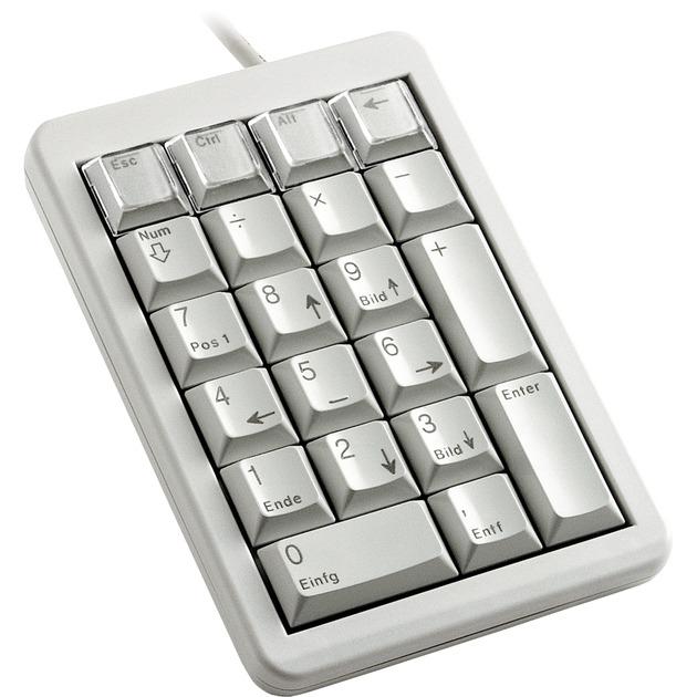 G84-4700 Portátil/PC USB Gris teclado numérico