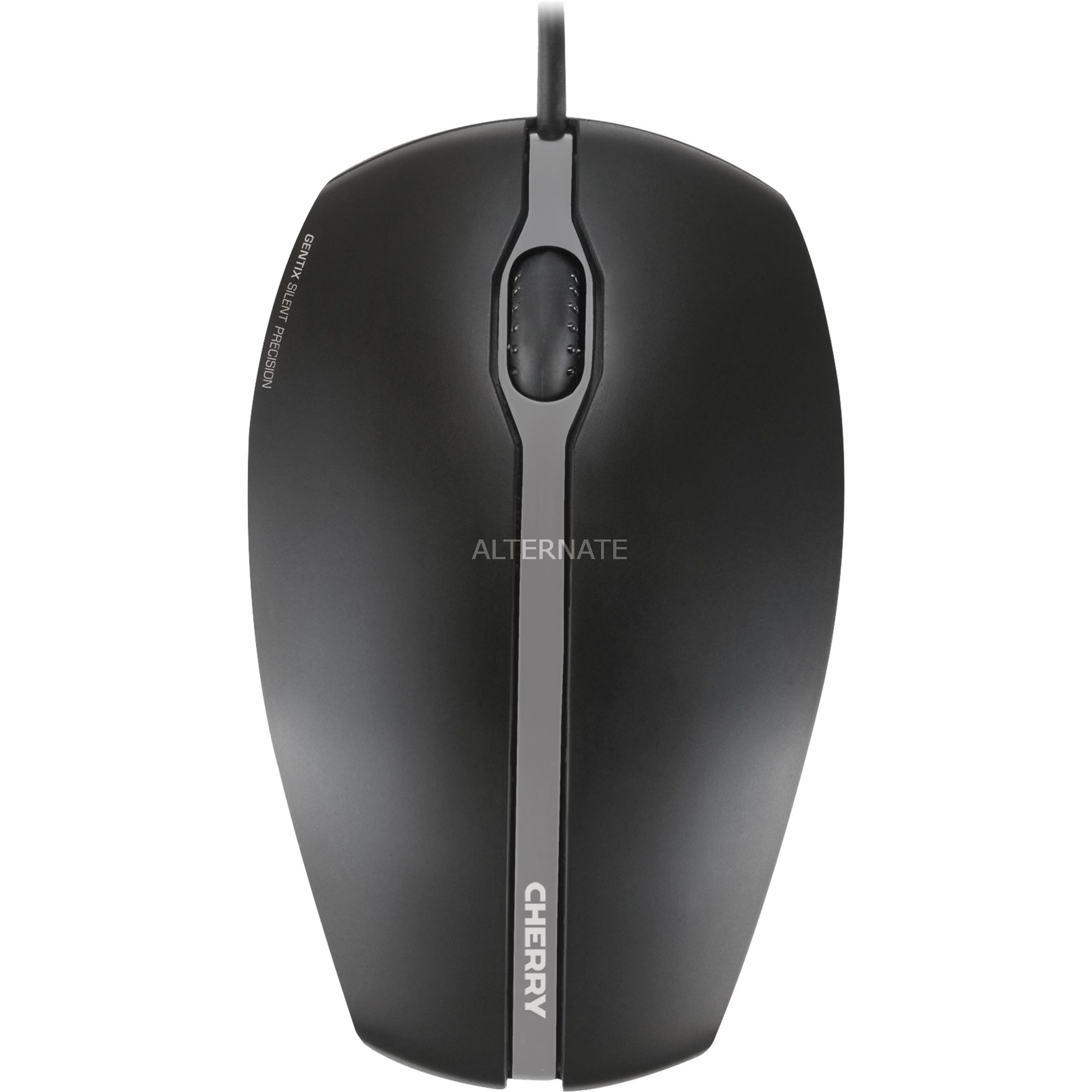 Gentix Silent ratón USB Óptico 1000 DPI Ambidextro