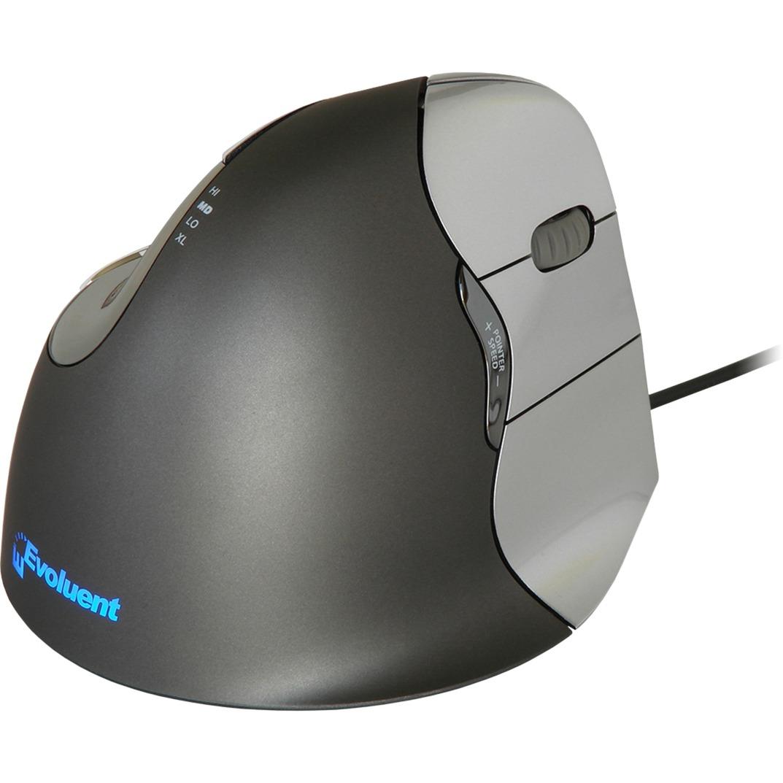 VerticalMouse 4 ratón USB Laser mano derecha