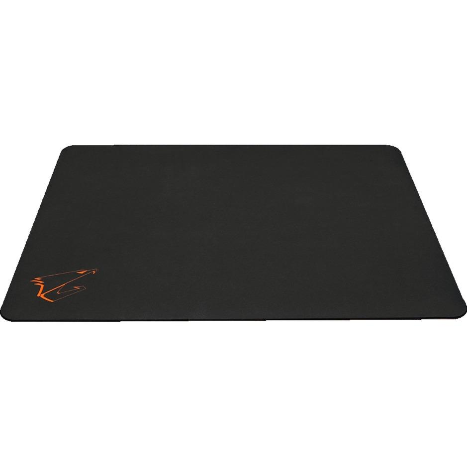 AMP500 Negro, Naranja Alfombrilla de ratón para juegos