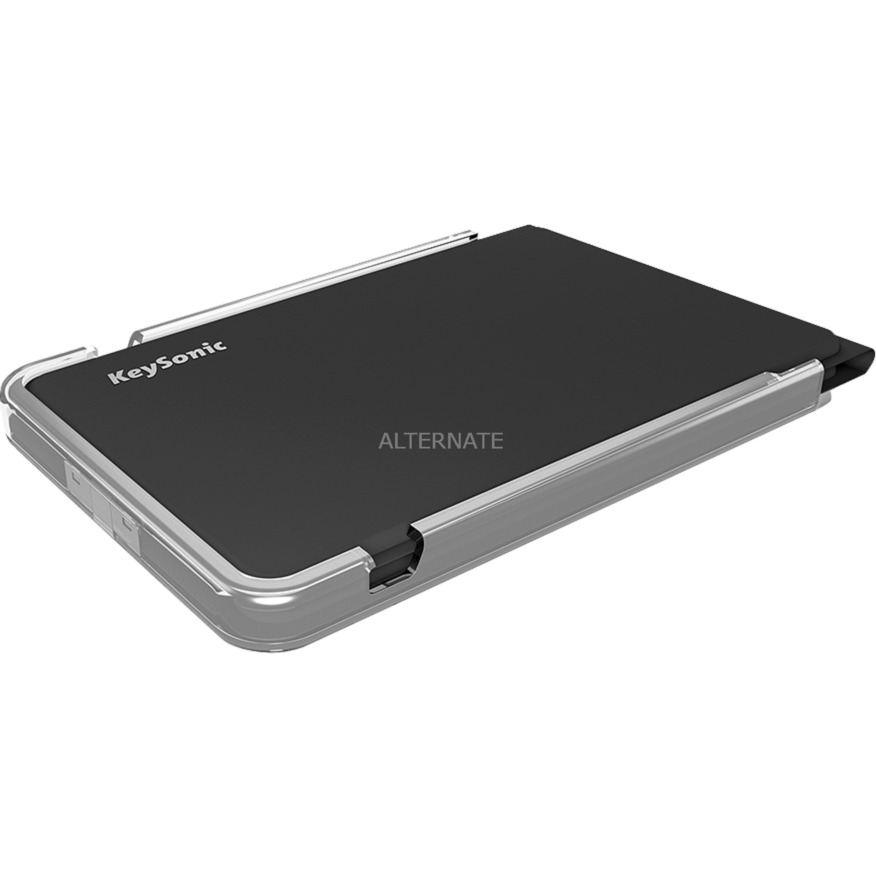 KSK-3010BT Bluetooth QWERTZ Alemán Negro, Teclado