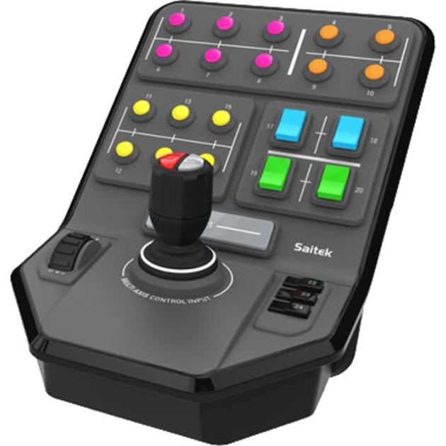945-000014 mando y volante PC Analógico/Digital USB Negro, Panel de instrumentos