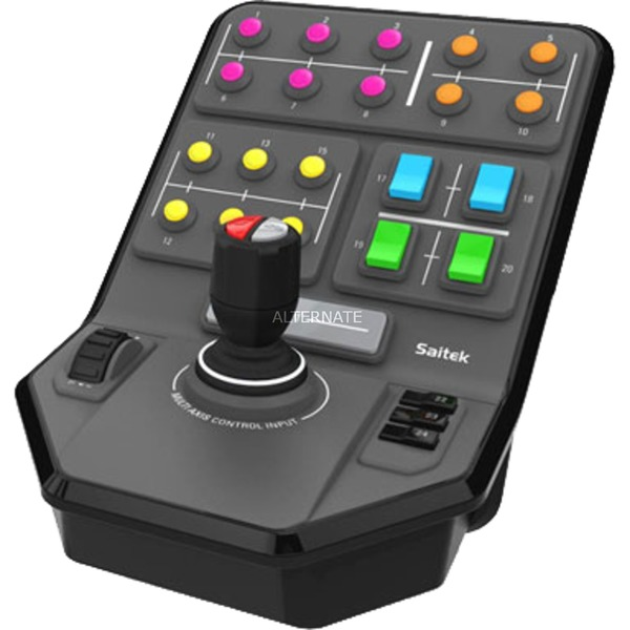 945-000014 mando y volante PC Negro, Panel de instrumentos