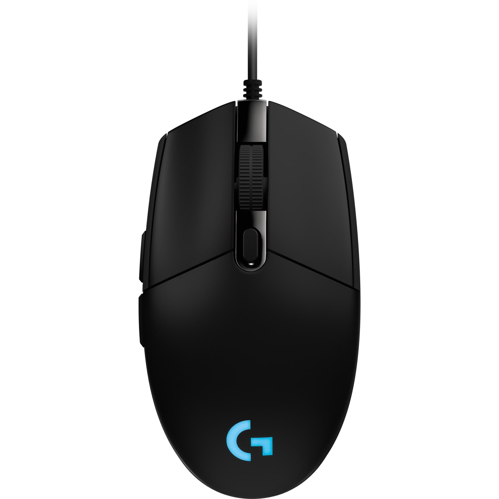 G203 Prodigy ratón USB 6000 DPI Negro