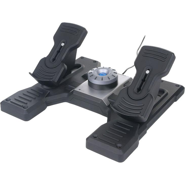 Pro Flight Rudder Pedals Simulador de Vuelo, Pedales