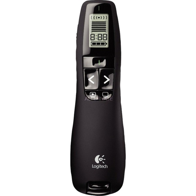 R700 apuntador inalámbricos RF Negro, Presentador