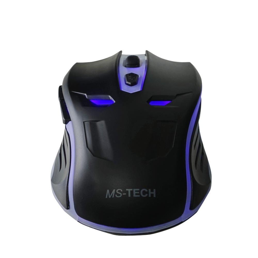 SM-X40 USB Óptico 2400DPI mano derecha Negro ratón