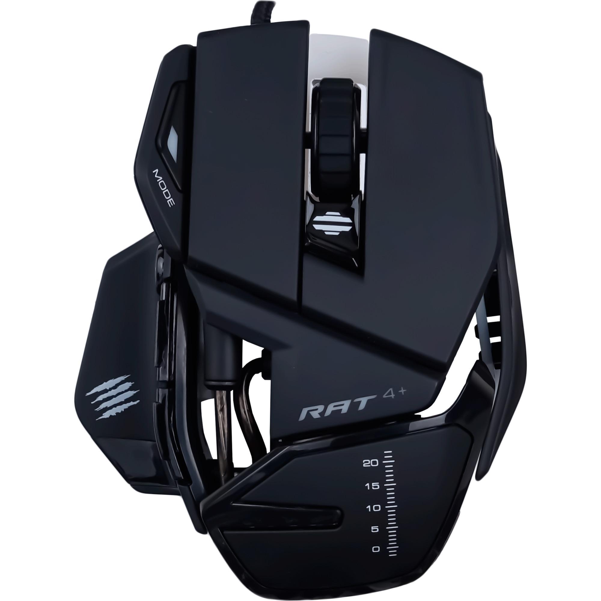 R.A.T. 4+ ratón USB Óptico 7200 DPI mano derecha
