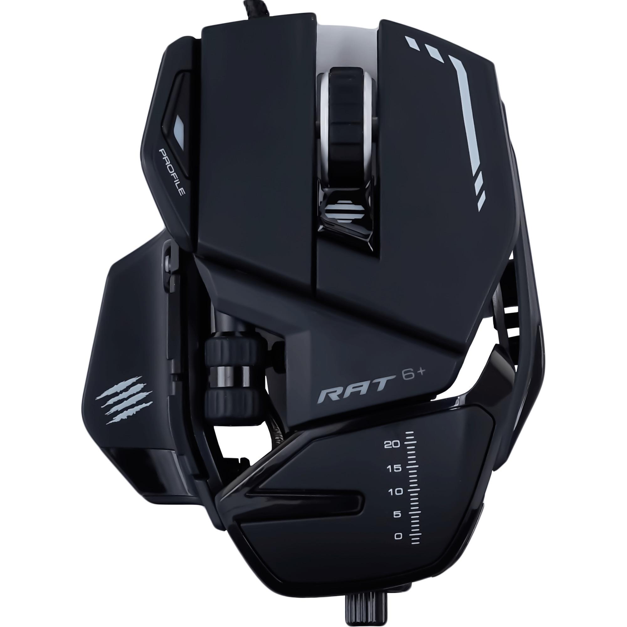 R.A.T. 6+ ratón USB Óptico 12000 DPI mano derecha