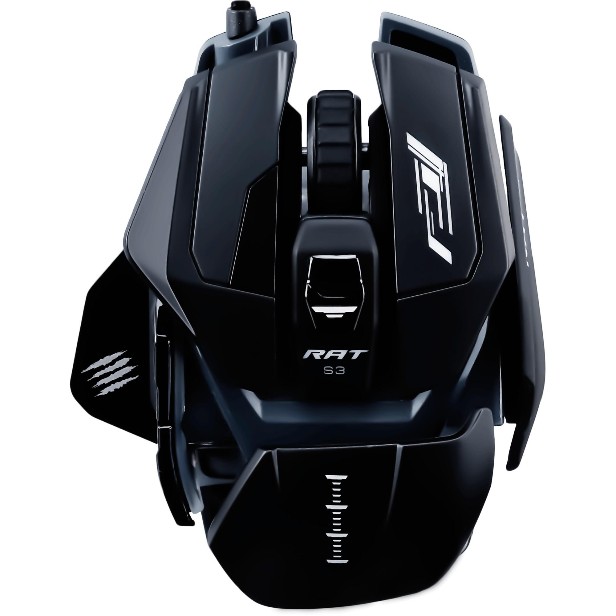 R.A.T. Pro S3 ratón USB Óptico 7200 DPI mano derecha