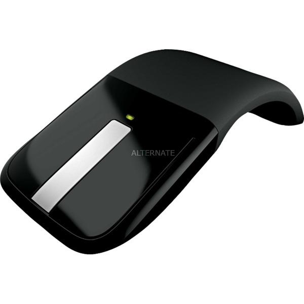 Arc Touch Mouse RF inalámbrico BlueTrack 1000DPI Ambidextro Negro ratón