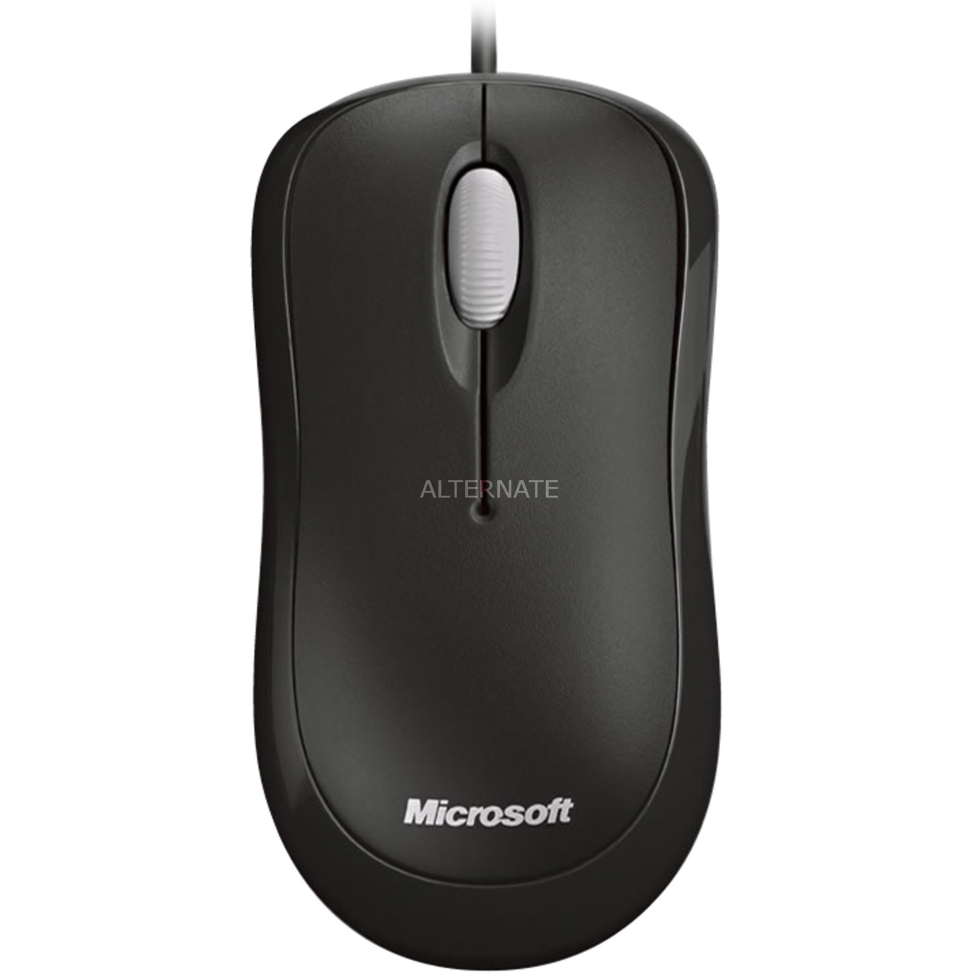 Basic Optical Mouse for Business ratón USB Óptico 800 DPI Ambidextro Negro
