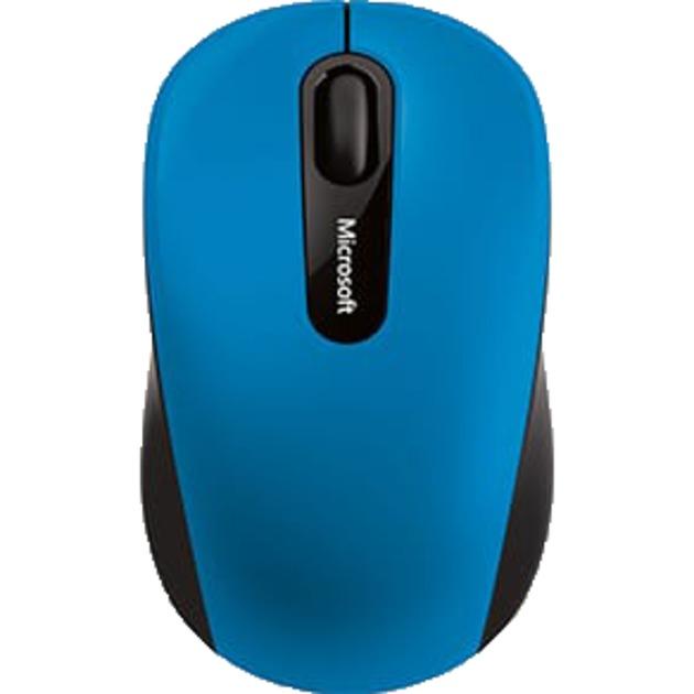 Bluetooth Mobile Mouse 3600 ratón BlueTrack Ambidextro Negro, Azul