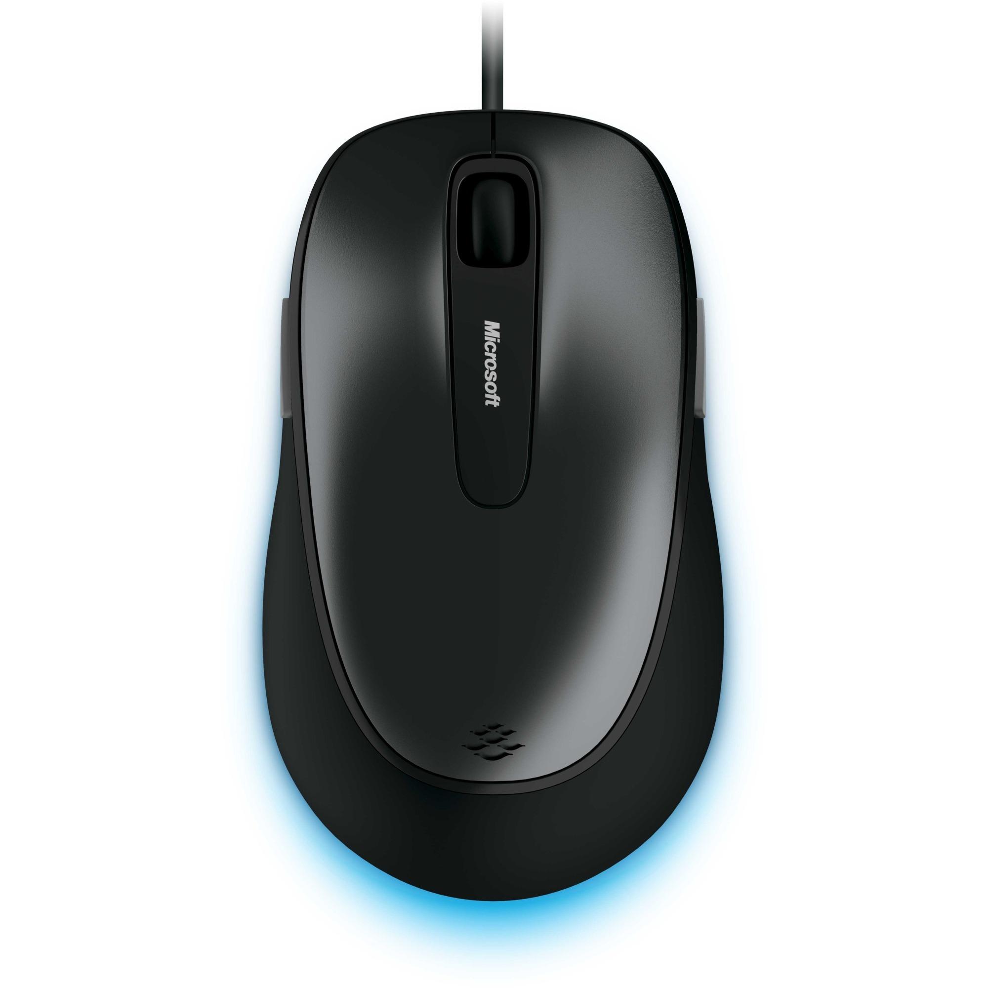 Comfort Mouse 4500 USB Óptico 1000DPI Ambidextro Negro ratón