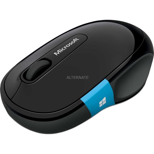 c Bluetooth BlueTrack 1000DPI mano derecha Negro ratón