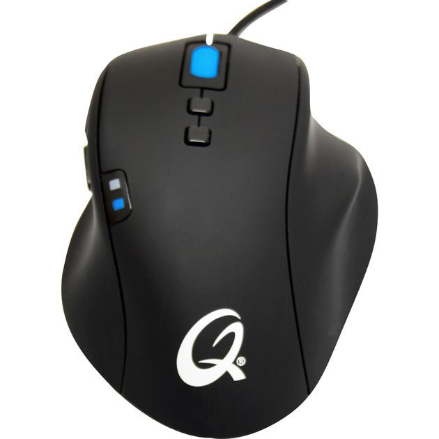 5K Pro USB Laser 5040DPI mano derecha Negro ratón