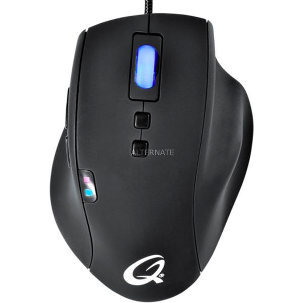 5K Pro ratón USB Laser 5040 DPI mano derecha Negro